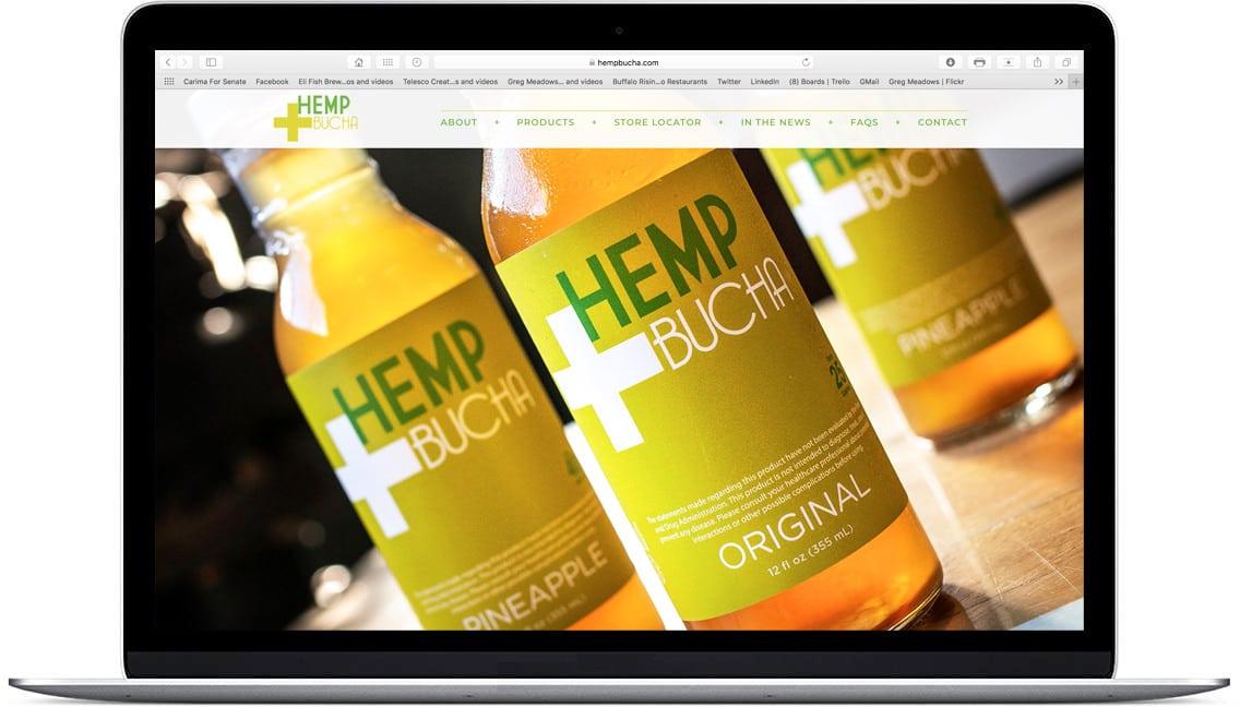 Eli Fish Brewery & Restaurant Website Design